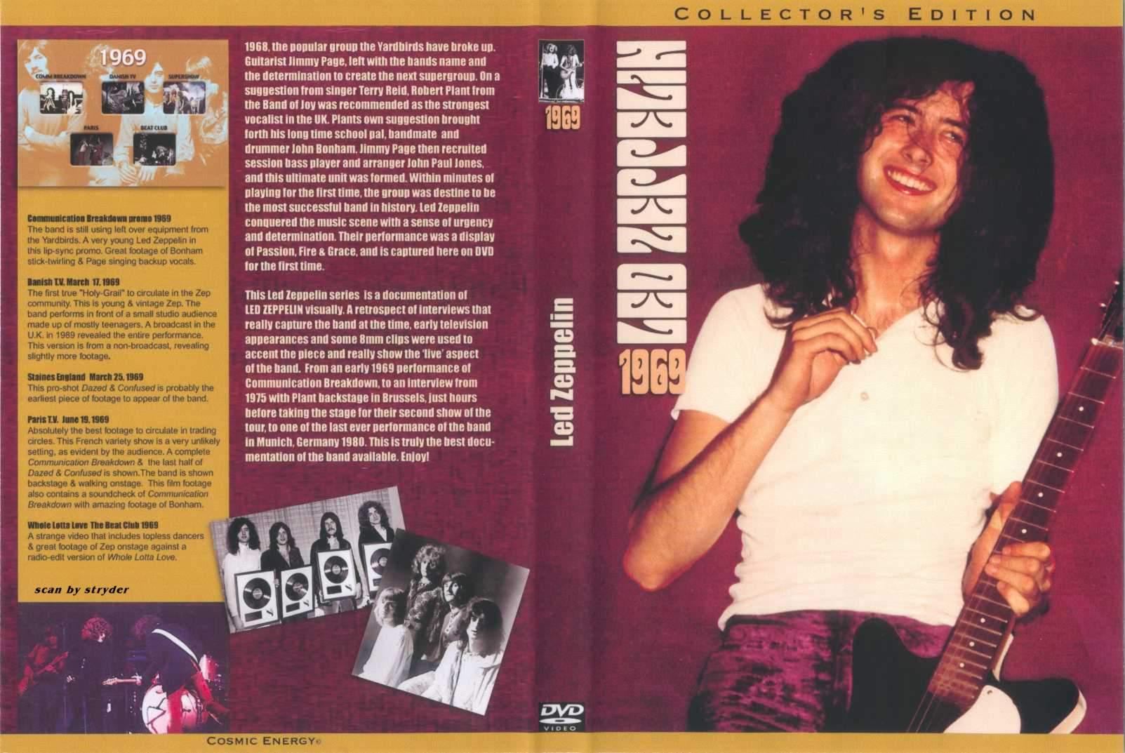 Led Zeppelin - Tous En Scene - Live @ Paris (1969)